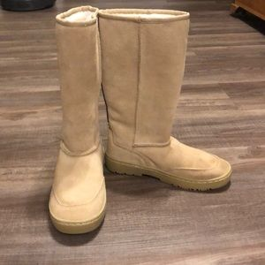 NWOT Rampage Suede Tall Boots